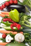 Low-calorie vegetables Stock Photography