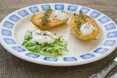 Low-calorie vegetarische lunch stock afbeeldingen