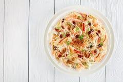 Low calories Apple Cranberry carrots Coleslaw Royalty Free Stock Photos