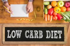 LOW CARB DIET Stock Images