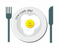 Low-carb diet Stock Images