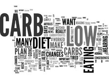 A Low Carb Diet Worked For Me Word Cloud Stock Images