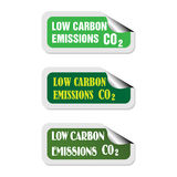 Low carbon emissions Royalty Free Stock Image