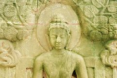 This is a Low Carving of Buddha`s biography. Have a image of Buddha Stock Photos