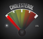 Low cholesterol level illustration design Royalty Free Stock Images