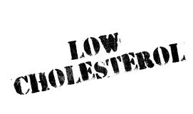 Low Cholesterol rubber stamp Royalty Free Stock Photos