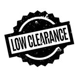 Low Clearance rubber stamp Stock Image