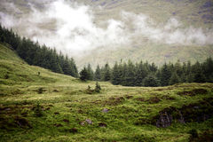 Low cloud in Highlands Royalty Free Stock Image