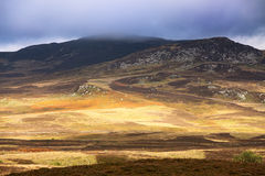 Low cloud over Highlands Royalty Free Stock Photo