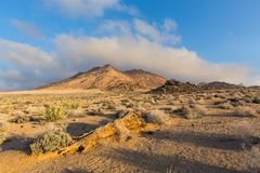 Low clouds in Richtersveld Royalty Free Stock Images