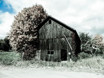 Low color of old barn Stock Images