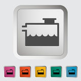 Low coolant indicator. Royalty Free Stock Photos