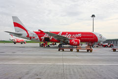 Low Cost Air Asia Company  Royalty Free Stock Photo