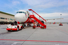 Low Cost Air Company Air Asia Stock Images