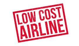 Low Cost Airline rubber stamp Stock Photo