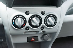 Low cost car air conditioning Royalty Free Stock Image