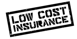 Low Cost Insurance rubber stamp Royalty Free Stock Photo