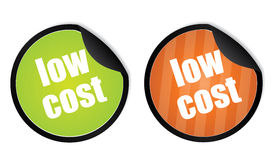 Low cost stickers Stock Images