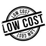 Low coststämpel Fotografering för Bildbyråer