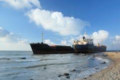 low dwóch statków wody Obrazy Stock