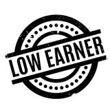 Low Earner rubber stamp Royalty Free Stock Image