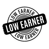 Low Earner rubber stamp Royalty Free Stock Photography