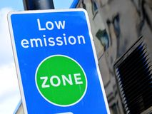 Low emission zone Stock Photography