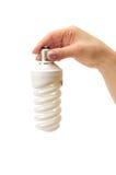 Low-energy bulb stock photo