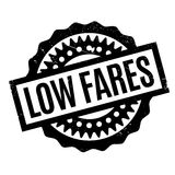 Low Fares rubber stamp Royalty Free Stock Image