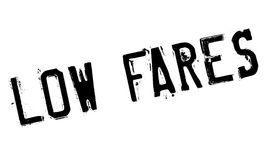 Low Fares rubber stamp Stock Photo