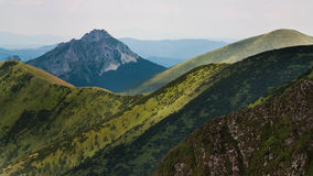 Low Fatra mountains Slovakia royalty free stock image