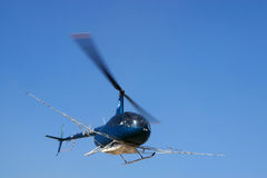 Low-flying helicopters Royalty Free Stock Image