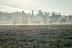 Low fog Royalty Free Stock Photo