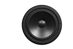 Low-frequency loudspeaker Stock Photo