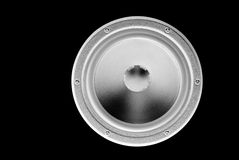Low-frequency loudspeaker (inverted) Royalty Free Stock Photos