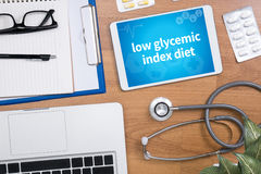 low glycemic index diet Royalty Free Stock Image