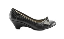 Low heeled shoe Stock Images