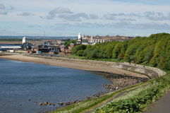 Low and High lights at North Shields Royalty Free Stock Images