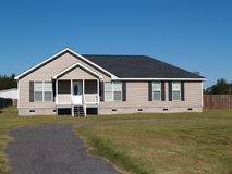 Low Income Manufactured Home royalty free stock image