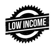 Low Income rubber stamp Stock Images