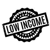 Low Income rubber stamp Stock Photography