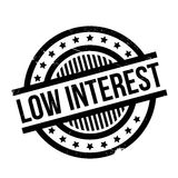 Low Interest rubber stamp Stock Photo