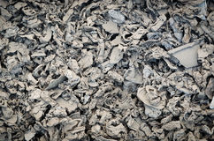 Low key background image of metal waste Stock Photography