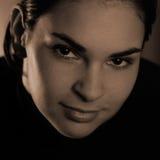 Low-key portrait Royalty Free Stock Image