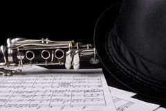 Free Low Key Shot Of A Clarinet Royalty Free Stock Photography - 11975547