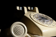 Rotary Phone on Hold Royalty Free Stock Image
