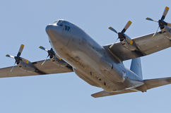 Low levelHercules fly past Stock Image