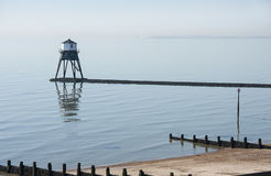Low Lighthouse at Dovercourt, Essex, UK Royalty Free Stock Photos