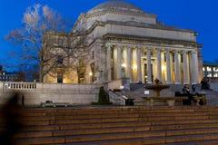 Low Memorial library at night, Columbia University Stock Photo