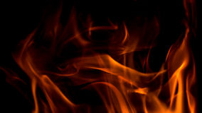 Low oxygen fire Royalty Free Stock Photography